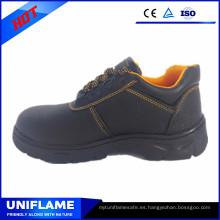 Zapatos de seguridad suela de goma de cuero más vendidos superventas más baratos para Ufd002 al por mayor