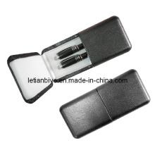 Pacote de presente caneta conjunto em caixa de caneta do plutônio (LT-C429)