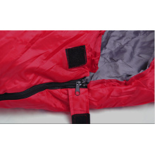 Mummy sleeping bag for cold weather, camping and hiking sleeping bag