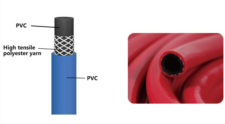 3 layers air hose