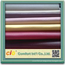 Tecido de couro artificial falso couro para carro