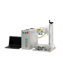 China Manufacturer Fiber Laser Marking Machine Metal for Various Shapes CNC Engraving Marker
