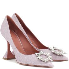 Lady Dress Rhinestone Leather Shoes 2019 Women Fashion Low Heel Sandals