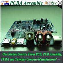 carte faite sur commande d'inverseur d'Assemblée de pcba avec l'assemblée de carte PCB de qualité, panneau perforé pcba clone