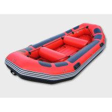 Надувная лодка для сплава по реке Китай, прогулочная лодка привлекательного красного цвета (SH)