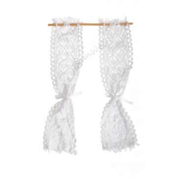 Blythe Dolls House Accessories Lace Curtain Set
