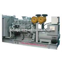 CE Approved 480KW Mitsubishi Open Type Diesel Generator Set