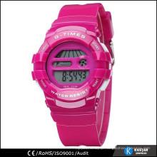 sport watch digital movement, 3 ATM water resistant watch