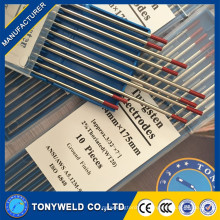 высокое качество 1.6 2.4 3.2 Тиг сварка Вольфрамовым электродом красный