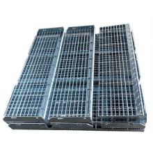 Professional manufactured  Galvanized Steel Stair Tread  / HDG Steel Stair Tread