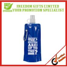 BPA Free Advertising Folding Water Bottle