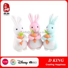 Decoración de Pascua regalo juguete conejo de peluche conejito suave relleno de juguete