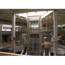 Observación de la pared posterior Observación Centro comercial Plaza de elevación