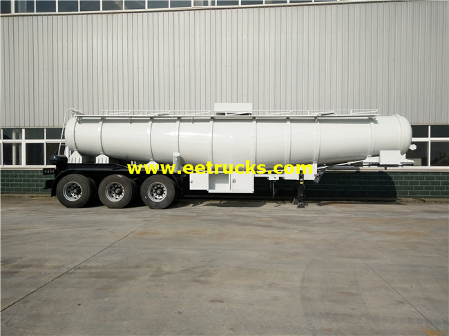 H2so4 Transport Tank Trailers