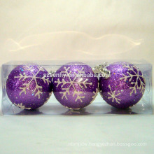 Decorative christmas foam ball