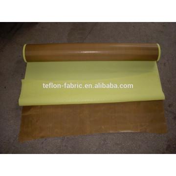 Fitas de tecido de teflon antiaderente com adesivo com forro