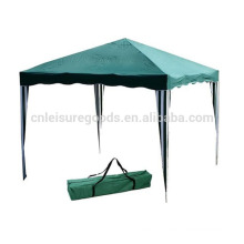 All iron folding gazebo