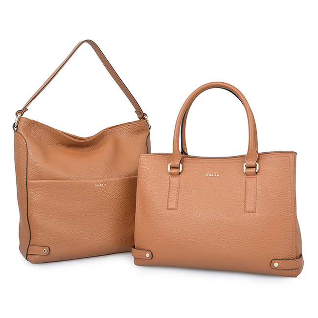 Grain Leather Large Capacity Lady Shoulder Bag Business Women Tote Bag