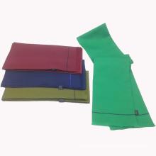 Doppelseitenschlauch Polyester bedruckter chinesischer Schal mit Fransen
