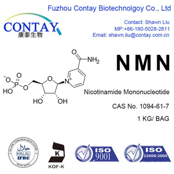 Contay Raw Material NMN Nicotinamide Mononucléotide