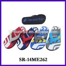 2014 china fashion new design eva man slipper