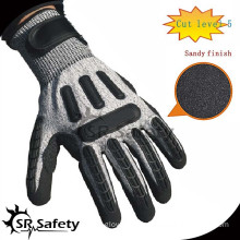 SRSAFETY high protective industrial impact gloves/ safety impact gloves