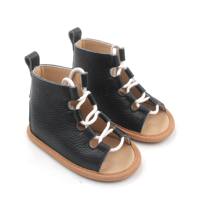 Custom Shoelace High Baby Sandals Summer