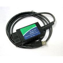 Ferramenta de verificação de Interface de diagnóstico Elm327 USB v 1.4 e 1.5