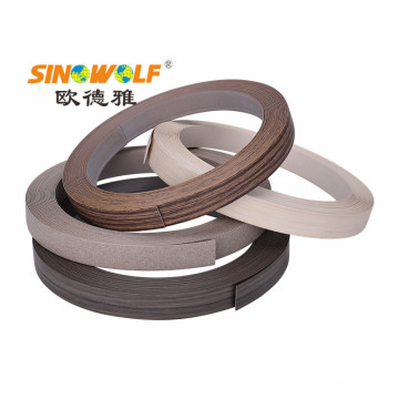 PVC Edge Banding Matt Finish Wood-grain Pepejal