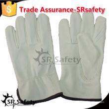 SRSAFETY Корова зерновая кожа, перчатки перчатки водителя