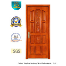 Solid Wood Door for North America with Carving (DS-6010)