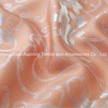 100% Polyester Jacquard gefärbt gestreiften Vorhang Stoff Großhandel