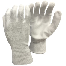 NMSAFETY glass use cut resistant 3 shell with polyurethane palm labor gloves