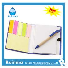 Бумажный блокнот с цветными плакаторами-наклейками672