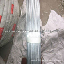 Galvanized Oval Fence Wire 2.4x 3.0MM,2.2 x 2.7MM