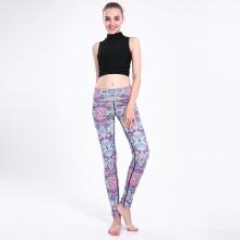 Hot Sale Print Yoga Pants Sports Leggings 0249