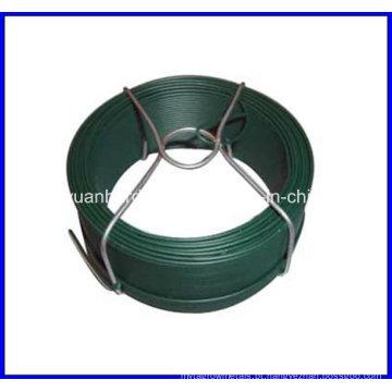 1,0 milímetros de PVC revestido de arame / pequeno fio de bobina / galvanizado pequeno fio de bobina