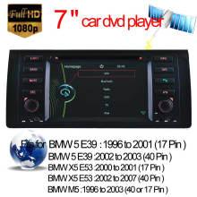 Car DVD Player for BMW M5 BMW 5 Series E39 GPS Navigation with Video Bluetooth (HL-8786GB)