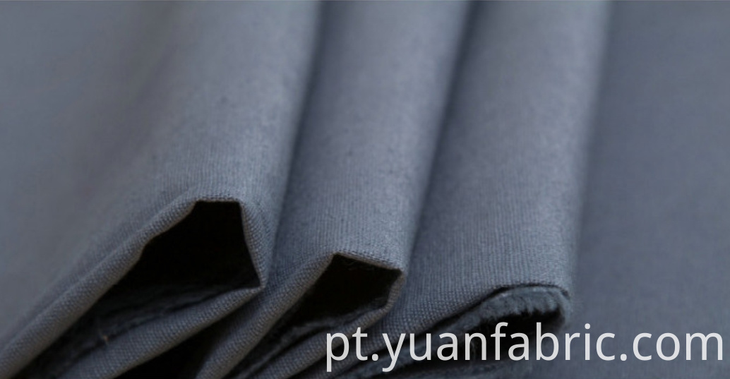 143Wholesale TC Blend Woven Textile Uniform Dyed Fabric