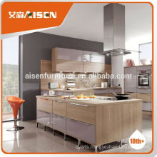 With quality warrantee factory directly prefab kitchen manufacturer