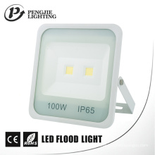 Nouvelle lumière blanche d'inondation de l'ÉPI LED du lumen 70-80lm / W du lumen du réflecteur 100W de conception