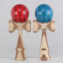 Japanische traditionelle Bambus Kendama Spielzeug für Großhandel