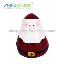 Luces de la vela de Navidad de Santa Claus eléctrica