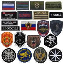 Customized High Quality Garment Brand Cotton Tag Tshrit Tag Patch Badge Clothing Patch