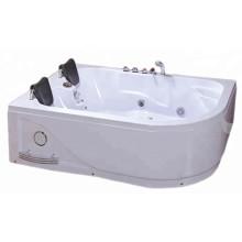 Крытая гидромассажная ванна на 2 человек с панелью управления