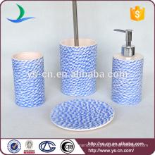 Projeto da forma Projeto da superfície de peixe Projeto cerâmico do banheiro