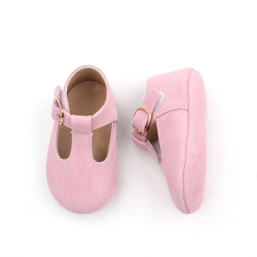 Pink Soft Sole Infant Baby Girl Dress Shoes