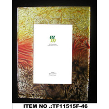 Crystal Gold Foil Paper Glass Photo Frame