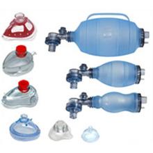Reusable Silicone PVC Manual Resuscitator