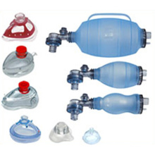 Resuscitator manual do PVC do silicone reusável